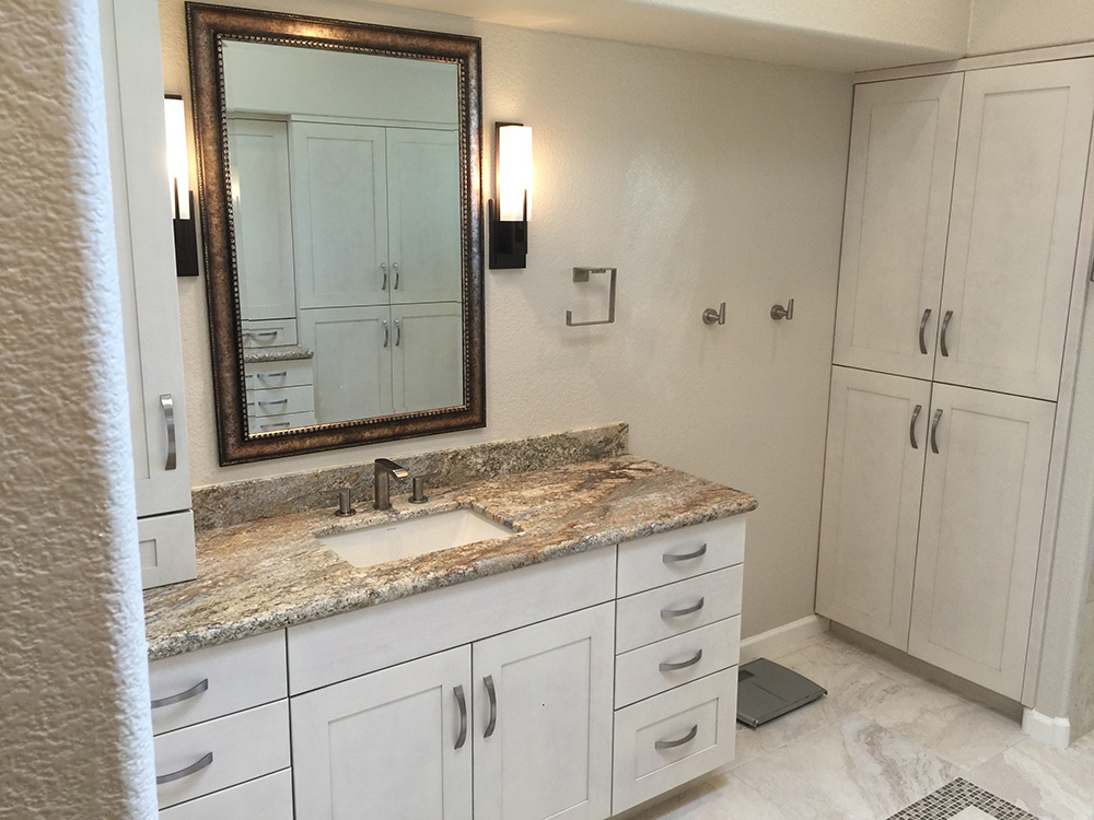 Bathroom remodeling in phoenix az white construction group for Fast bathroom remodel