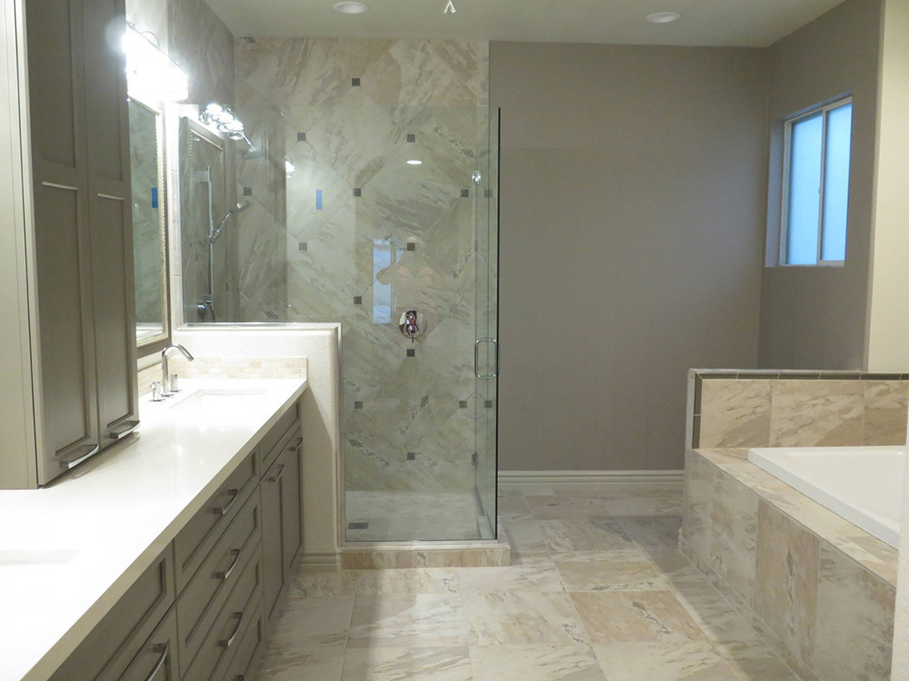 Bathroom remodeling in phoenix az white construction group for Bathroom remodel 85048